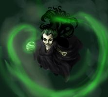 Death Eaters-Bellatrix by LilywhiteBlack