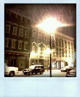 Downtown Plattsburgh, NY by tyrannosaurussex