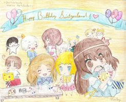 Contest Entry: Chibi party~!! by MinaSenju