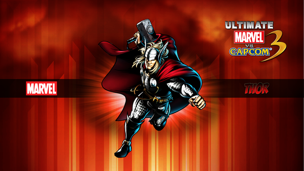 Ultimate MvC3 Thor by CrossDominatriX5