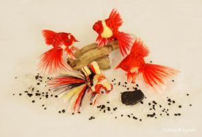 Goldfishes by demetyoubi