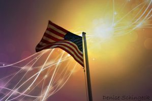 Happy Independence Day by DeniseSchingeck