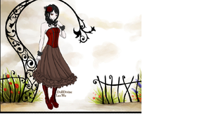 Levana as a Gothic Lolita by baronessofblades