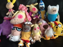 Cartoon Network Plushies by Iwatchcartoons715