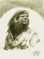 The Wolfman by ivanraposo