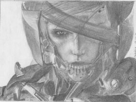 MGS - Raiden by Tekesuta
