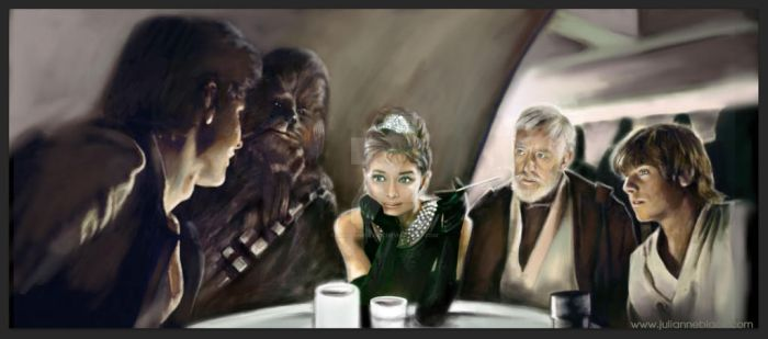 Breakfast in Mos Eisley Cantina by JulianneBlack