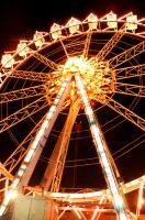 ferris wheel I by pandorynha