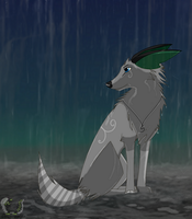 AT: Rain by Green-wolfie