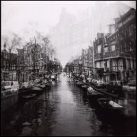 Double Vision Amsterdam by toy-camera