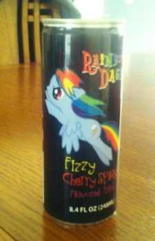 My Little Energy Drink by IceyAxe