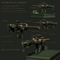 Steam Rifle       -concept by ThomasAKing
