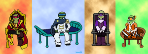 Four Prince of Dorkness by Kanon58