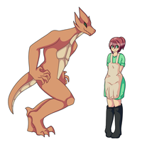 Rin Mellows - The Dragon by Inkblot123