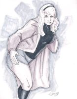 Gwen Stacy commission by TeamAmazing