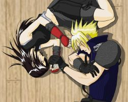 Cloud n Tifa by tmac1kobe8vc15