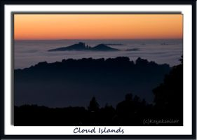 Islands in the Fog by kayaksailor