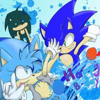 Gift: SonicStaryFan by Starzway