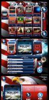 TouchTunes Patriot Theme v1 by Jonzy