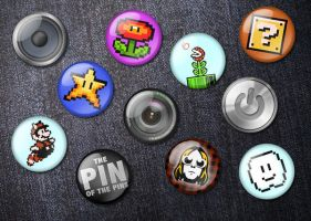 Badges by A-f-x
