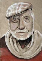 Old man - secound draw for unit 7 ^^ by InPBo