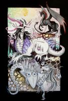 Dragons by Si3art