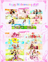 Happy 7th Anniversary SNSD by JannieYuu