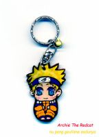 Naruto Keychain by Archie-The-RedCat