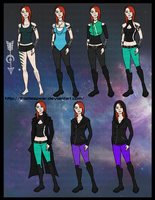 Character Reference - Artemis by ThistleSpear
