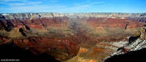 South Rim Grand Canyon 2 by eivaj