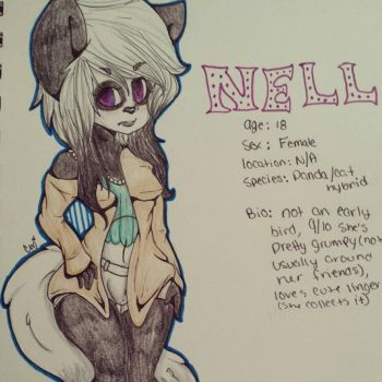 Nell : mini bio by SinnersOfTheHeart