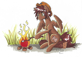 Copic OC Commission by LankySandwich