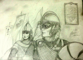 The Women Warriors of Rus and Norse by Gambargin