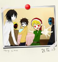 Creepypasta Proxy Christmas by IkaNe96