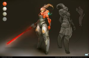 //OrangeJouster by Bluefley