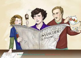 Sherlocks in the Making by sketchditto