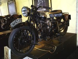 Brough Superior SS motorcycle by Partywave