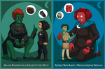 Night Vale Mayoral Gem Fusions by ErinPtah