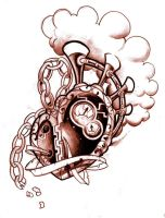 Steampunk Heart by WillemXSM
