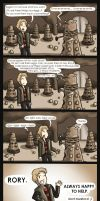 Doctor Who - Rory's eggs by Star-Jem
