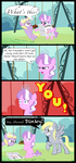 No pushing! by MLP-Silver-Quill