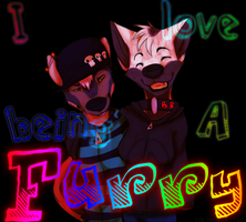 I love being a FURRY by mangoweasel
