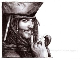 Jack Sparrow by endzi-z