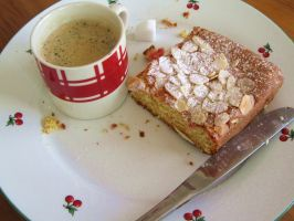 Coffee and cake by Santian69
