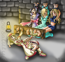 :C: Tickles in the Dungeon by louisalulu