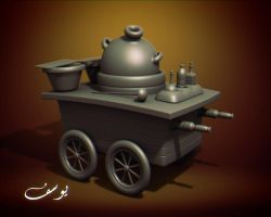 Bean Cart model by maxspider