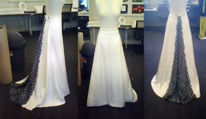 Wedding Skirt completed by katerlin