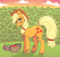 Apple Jack by SayRailgun