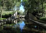 Water feature of Jardin Yitzhak Rabin by EUtouring