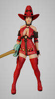 Ayane I-no Custom Model PREVIEW by Chrissy-Tee